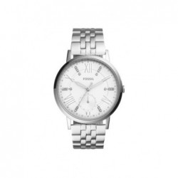 FOSSIL Gazer White Dial Ladies de acero