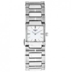TISSOT T02 MOTHER OF PEARL DIAMOND SET